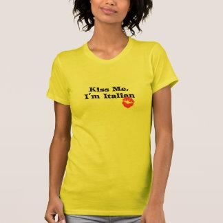 Béseme I' italiano de m Camiseta