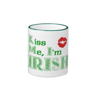 Béseme Im irlandés Tazas