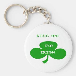 Béseme, irlandés del ` m de I Llaveros Personalizados