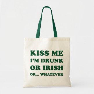 Béseme que me beben bolsa lienzo