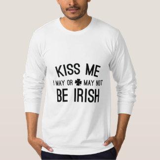 Béseme que puedo o no puedo ser irlandés playera