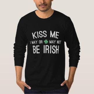 Béseme que puedo o no puedo ser irlandés poleras