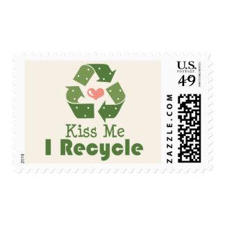 Béseme que reciclo sellos