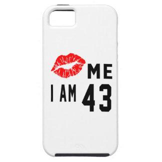 Béseme que soy 43 iPhone 5 carcasas