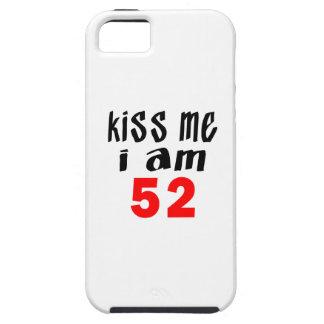 Béseme que soy 52 iPhone 5 fundas