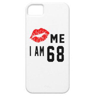 Béseme que soy 68 iPhone 5 carcasas