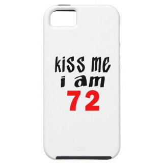 Béseme que soy 72 iPhone 5 fundas