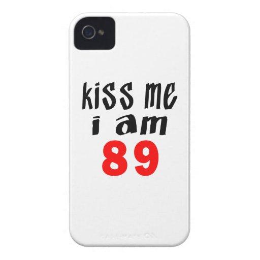 Béseme que soy 89 Case-Mate iPhone 4 fundas