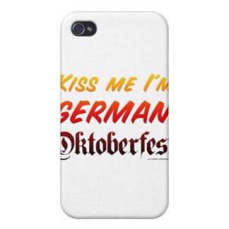 Béseme que soy alemán iPhone 4 funda
