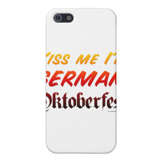 Béseme que soy alemán iPhone 5 carcasas