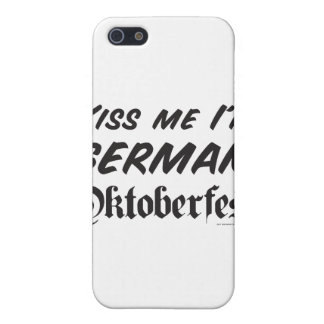 Béseme que soy alemán iPhone 5 carcasa