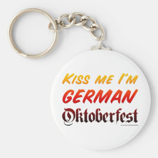 Béseme que soy alemán llaveros