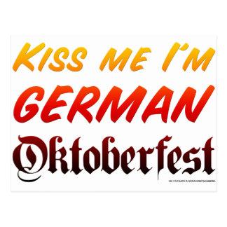 Béseme que soy alemán postal