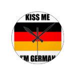 Béseme que soy alemán relojes