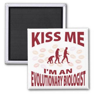 Béseme que soy biólogo evolutivo imán
