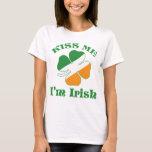 Béseme que soy camisa irlandesa