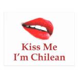 Béseme que soy chileno postales