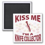 Béseme que soy colector del cuchillo iman para frigorífico