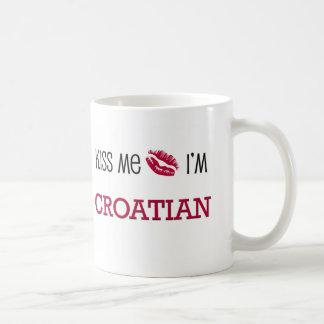 Béseme que soy CROATA Tazas De Café