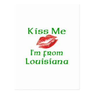 Béseme que soy de Luisiana Postales