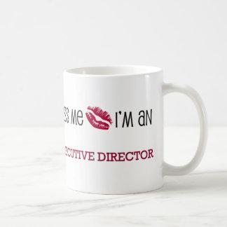 Béseme que soy DIRECTOR EJECUTIVO Taza De Café