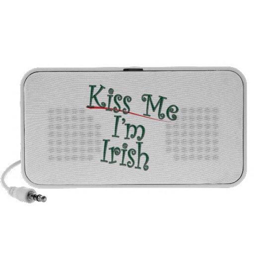 Béseme que soy el irlandés 1 mp3 altavoz