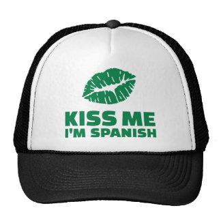 Béseme que soy español St Patrick Gorro De Camionero