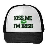 Béseme que soy gorra irlandés