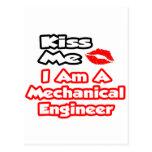 Béseme… que soy ingeniero industrial tarjeta postal