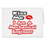 Béseme… que soy ingeniero industrial tarjeton