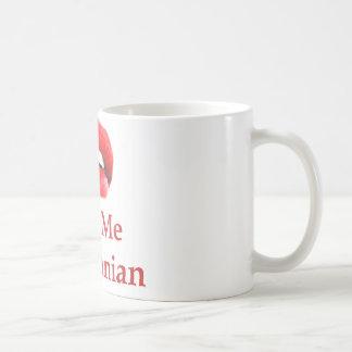 Béseme que soy iraní taza de café