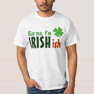 Béseme que soy Irishish Irlandés-ish Playeras
