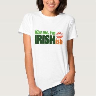Béseme que soy Irishish Playeras