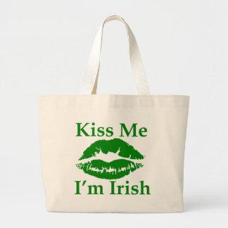 Béseme que soy irlandés bolsa