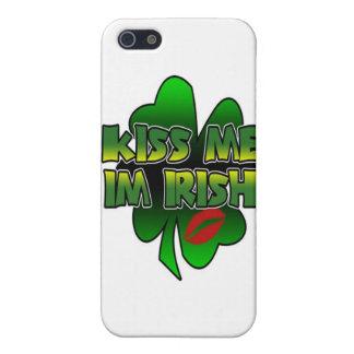 Béseme que soy irlandés - caso del iPhone 5 iPhone 5 Fundas