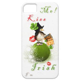 Béseme que soy irlandés con el Leprechaun Ducky en Funda Para iPhone SE/5/5s