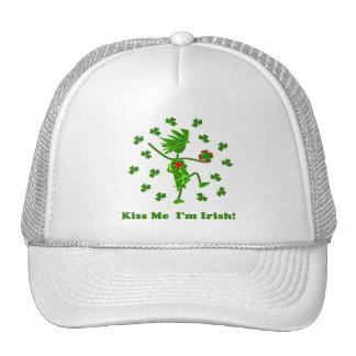 ¡Béseme que soy irlandés! Gorra