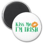 Béseme que soy irlandés iman