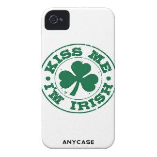Béseme que soy irlandés para el iphone 4 o 4S iPhone 4 Funda