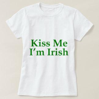Béseme que soy irlandés playera