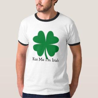 Béseme que soy irlandés polera