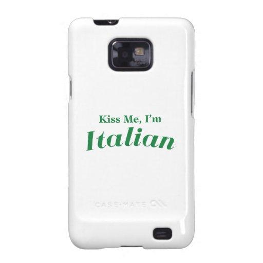 Béseme que soy italiano galaxy SII carcasas