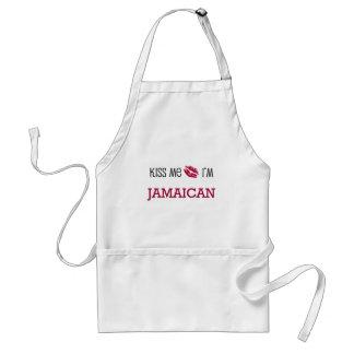 Béseme que soy JAMAICANO Delantal