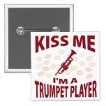 Béseme que soy jugador de trompeta pin