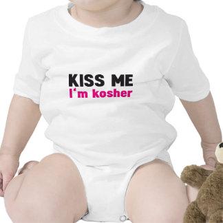 Béseme que soy kosher trajes de bebé