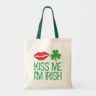 Béseme que soy la bolsa de asas irlandesa del día