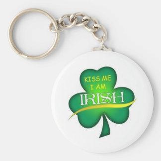 Béseme que soy llavero irlandés