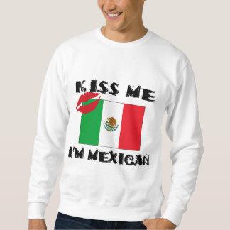 Béseme que soy mexicano sudadera