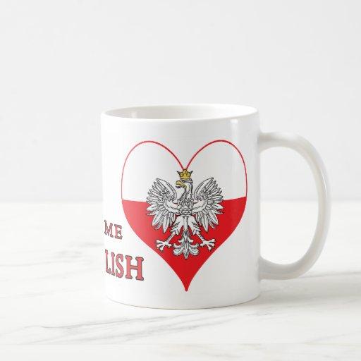 Béseme que soy polaco taza clásica