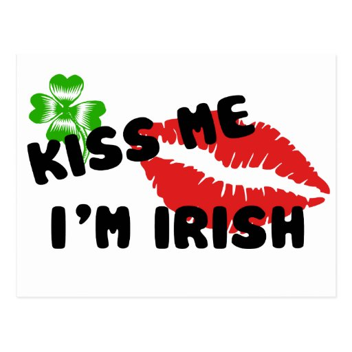 Béseme que soy postal irlandesa